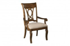Portolone Harp Back Arm Chair
