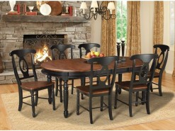 British Isles Oval Dining Table