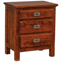Lewiston 3 Drawer Nightstand