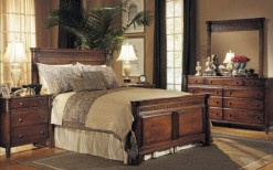 George Washington Architect 501 Queen Sleigh Hi Bed
