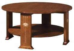 Harvey Ellis Round Cocktail Table Centennial