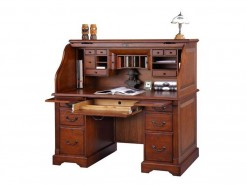 Winners Only Home Office Country Cherry Roll Top Desk