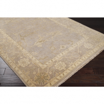"Ainsley Collection Light Gray 5'6"" x 8'6"" Rug*"