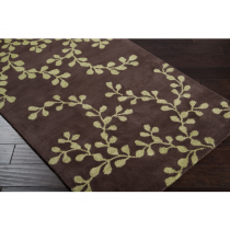 Artist Studio Collection Brown 5' x 8 Rug*