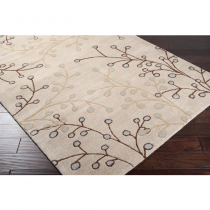 Athena Taupe, Dark Brown & Camel 8' x 11' Rug