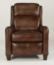 Poet Leather High Leg Recliner with Power Headrest