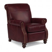 Bay Bridge Leather High Leg Recliner