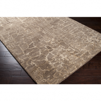 Tan and Khaki Banshee Rug 5' x 8'*
