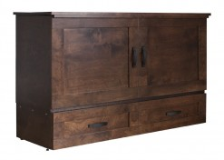 Cape Cod Queen Cabinet Bed