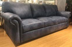 Custom Program Leather Large Sofa