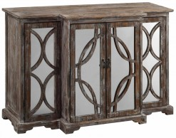 Wood and Mirror Sideboard