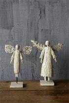 Angels on Stand Set of 2