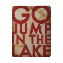 Go Jump in the Lake Graphic Art