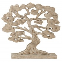 Mango Wood Carved Tree of Life