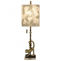 Lisarow Monkey Motif Accent Table Lamp