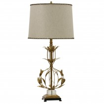 Miriam Steel and Crystal Table Lamp