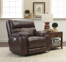 Omaha Leather Power Recliner