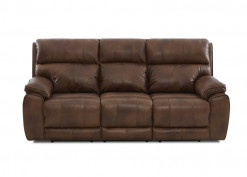 Omaha Leather Power Reclining Sofa
