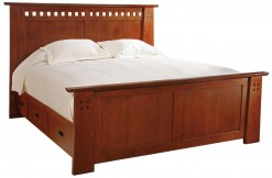 Highlands King Platform Storage Bed