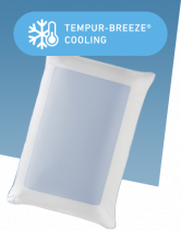 TEMPUR-Cloud Breeze Dual Cooling Pillow