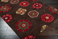 Smithsonian Collection Brown and Red 5' x 8' Rug*
