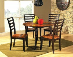 Abaco Round Drop Leaf Table