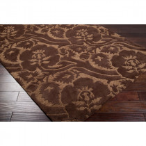 Natura High Plush with Low Pile Brown 5' x 8' Rug *