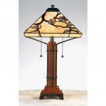 Tiffany Grove Park Table Lamp