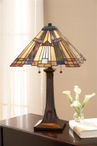 Tiffany Inglenook Table Lamp