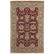 "Taj Mahal Collection 5'6"" x 8'6"" Rug"