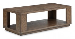 Maximus Rectangular Cocktail Table w/Casters