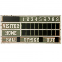 Old Ballpark Scoreboard