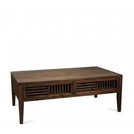 Modern Gatherings Open Slat Coffee Table