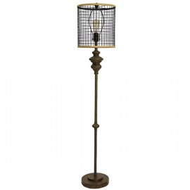 Poly/Metal Floor Lamp