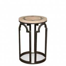 Estelle Round Chairside Table