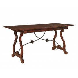 Madeira Desk w/ Plank Top