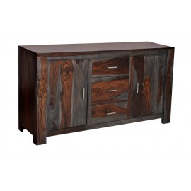 54713 3 Drawer 2 Door Sideboard