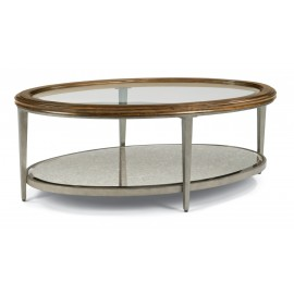 Patina Oval Cocktail Table