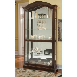Howard Miller Traditional Cherry Finish Curio Cabinet Winslet