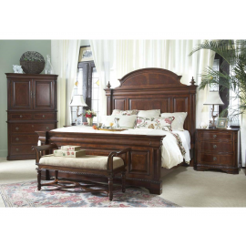Antebellum Mansion Bed