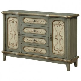 Coast To Coast 4-Drawer and 2-Door Credenza