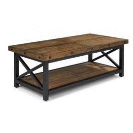 Flexsteel Carpenter Living Room Rectangular Coffee Table