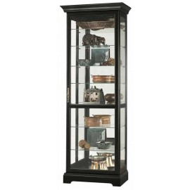 Howard Miller Chesterfield III Black Curio Cabinet