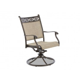Cayside Swivel Rock Dining Chair - 2 Pack