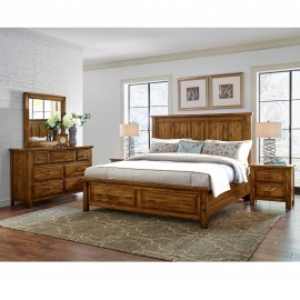 Maple Road Mansion King Storage Bed