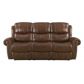 Alomar Leather Reclining Sofa