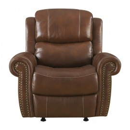 Alomar Leather Rocking Reclining Chair