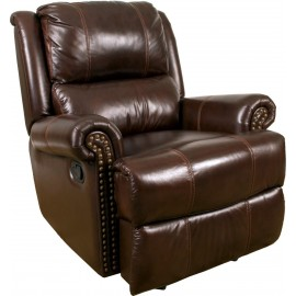 Aries Leather Glider Recliner