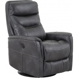 Gemini Flint Swivel Gliding Power Recliner