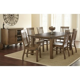 Hailee Dining Table w/6 Chairs